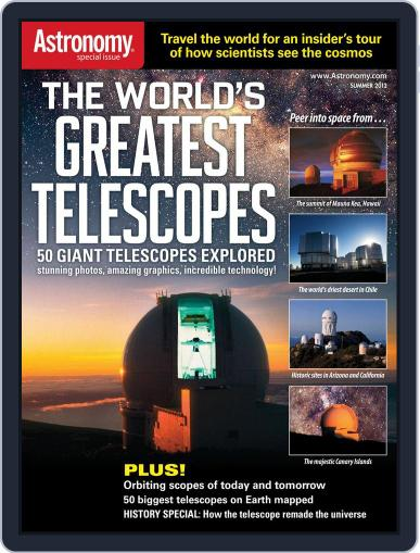 The World's Greatest Telescopes (Digital) April 5th, 2012 Issue Cover