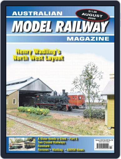 Australian Model Railway Magazine (Digital) August 1st, 2020 Issue Cover