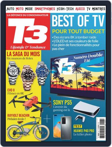 T3 Gadget Magazine France Magazine (Digital) July 1st, 2020 Issue Cover