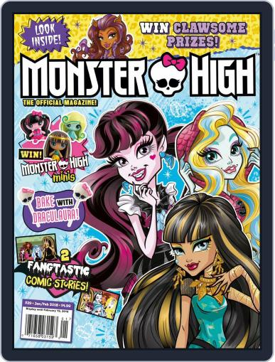 Monster High Magazine (Digital) January 1st, 2018 Issue Cover