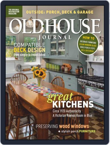 Old House Journal Magazine (Digital) July 1st, 2020 Issue Cover