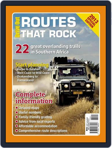 Drive Out - Routes that Rock Magazine (Digital) September 29th, 2013 Issue Cover