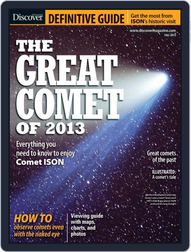 The Great Comet Of 2013 (Digital) September 20th, 2013 Issue Cover