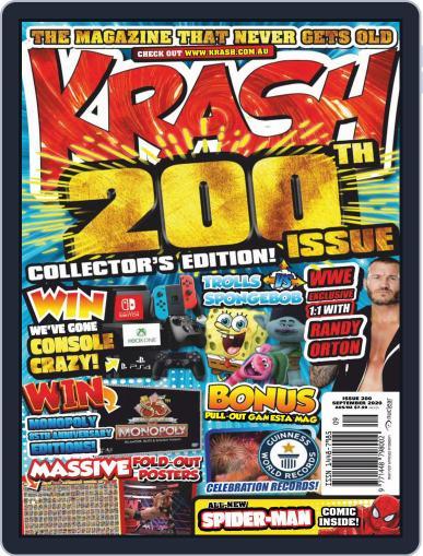 KRASH Magazine (Digital) September 1st, 2020 Issue Cover