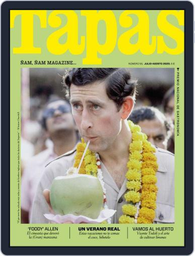 TAPAS Magazine (Digital) July 1st, 2020 Issue Cover