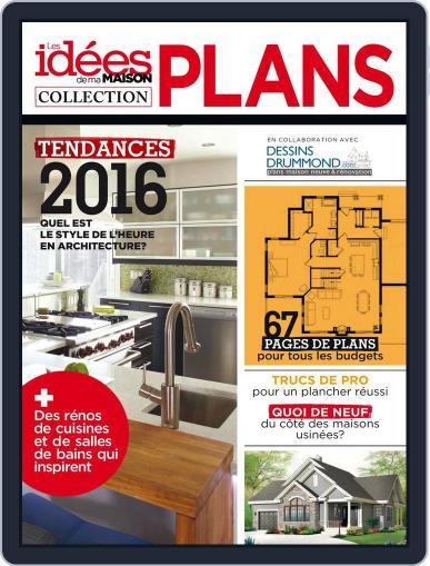 Les idées de ma maison - Collection plans (Digital) September 24th, 2015 Issue Cover