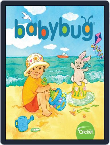 Babybug Stories, Rhymes, and Activities for Babies and Toddlers Magazine (Digital) July 1st, 2020 Issue Cover