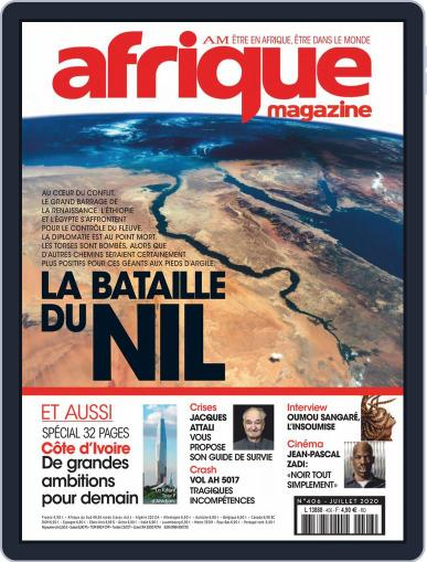 Afrique (digital) Magazine July 1st, 2020 Issue Cover