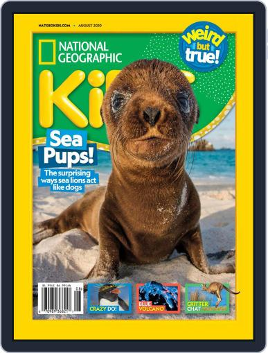 National Geographic Kids Magazine (Digital) August 1st, 2020 Issue Cover