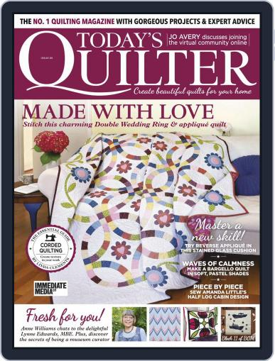 Today's Quilter Magazine (Digital) September 1st, 2020 Issue Cover