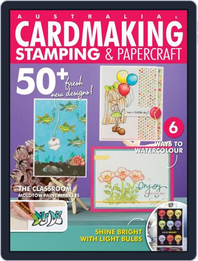 Cardmaking Stamping & Papercraft Magazine (Digital) April 1st, 2020 Issue Cover