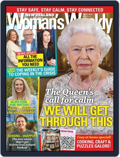 New Zealand Woman's Weekly Magazine (Digital) April 6th, 2020 Issue Cover