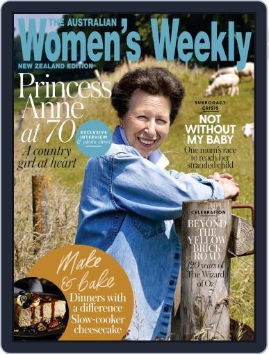 Australian Women's Weekly NZ Magazine (Digital) August 1st, 2020 Issue Cover