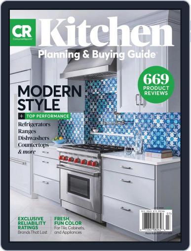 Consumer Reports Kitchen Planning and Buying Guide (Digital) July 1st, 2020 Issue Cover