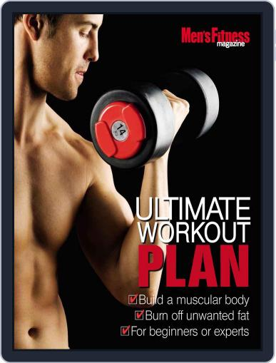 Men's Fitness Ultimate Workout Plan Magazine (Digital) June 8th, 2011 Issue Cover