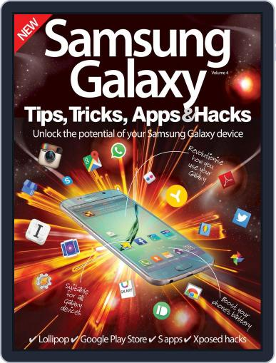 Samsung Galaxy Tips, Tricks, Apps & Hacks Magazine (Digital) July 8th, 2015 Issue Cover