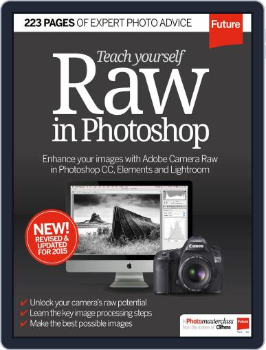 Teach Yourself RAW in Photoshop Magazine (Digital) September 24th, 2015 Issue Cover