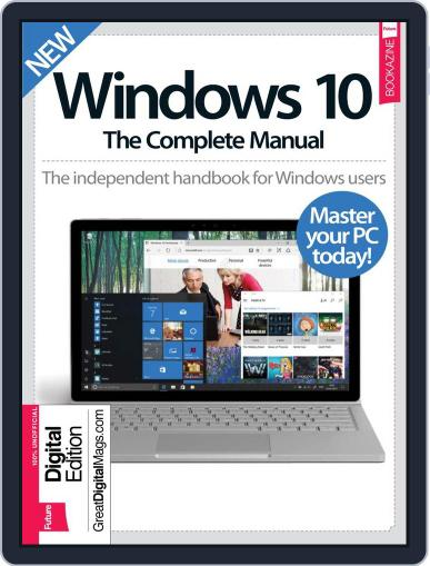 Windows 10 The Complete Manual Magazine (Digital) March 1st, 2017 Issue Cover