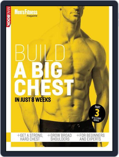 Mens Fitness Build a Bigger Chest Magazine (Digital) January 16th, 2014 Issue Cover