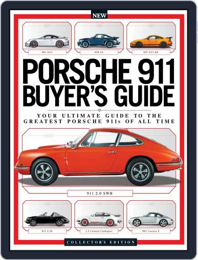 Porsche 911 Buyer's Guide Magazine (Digital) January 1st, 2017 Issue Cover