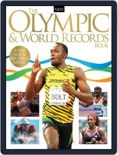 The Olympic & World Records Book Magazine (Digital) June 8th, 2016 Issue Cover