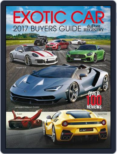 Exotic Car Buyers Guide Magazine (Digital) September 1st, 2016 Issue Cover