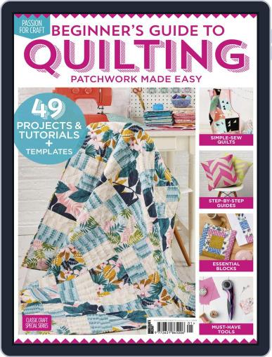 Beginner's Guide to Quilting Magazine (Digital) February 13th, 2020 Issue Cover