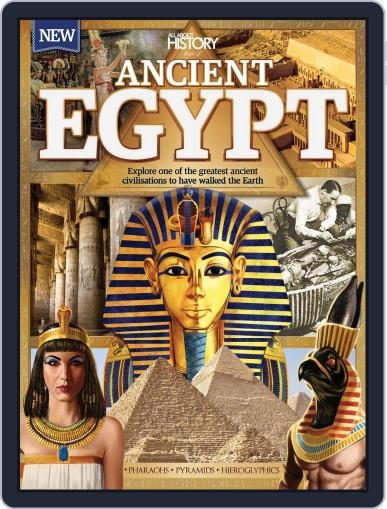 All About History Book Of Ancient Egypt Magazine (Digital) December 1st, 2016 Issue Cover