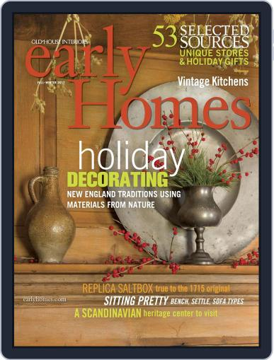Early Homes Magazine (Digital) October 24th, 2017 Issue Cover