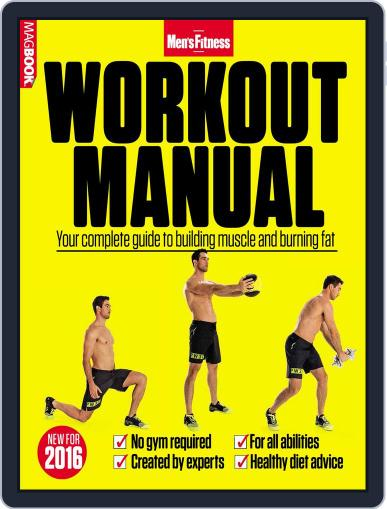 Men's Fitness Workout Manual Magazine (Digital) March 1st, 2016 Issue Cover