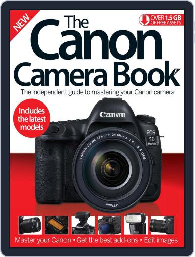 The Canon Camera Book Magazine (Digital) December 1st, 2016 Issue Cover