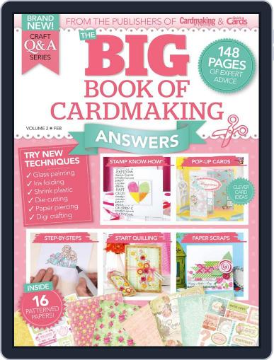 Big Book of Cardmaking Answers Magazine (Digital) June 1st, 2016 Issue Cover