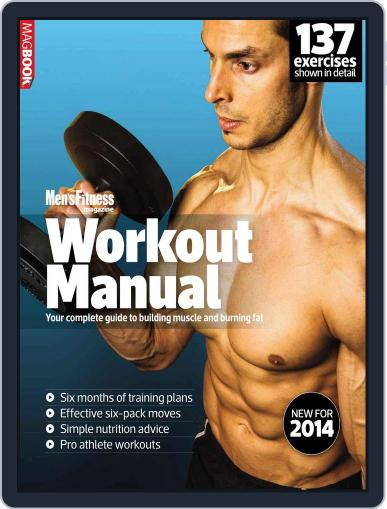 Mens Fitness Workout Manual 2014 Magazine (Digital) March 7th, 2014 Issue Cover