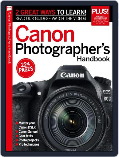 Master your Canon D-SLR Magazine (Digital) October 31st, 2016 Issue Cover
