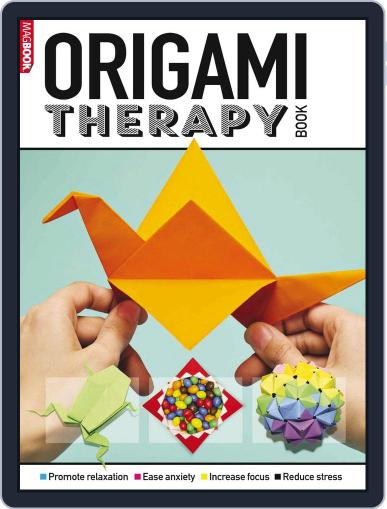 Origami Therapy Book Magazine (Digital) July 1st, 2016 Issue Cover