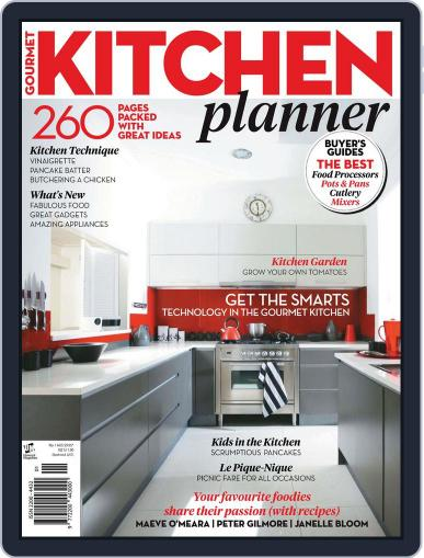 Gourmet Kitchen Planner Magazine (Digital) July 26th, 2012 Issue Cover