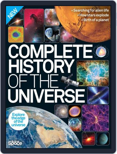 Complete History of the Universe Magazine (Digital) January 1st, 2016 Issue Cover