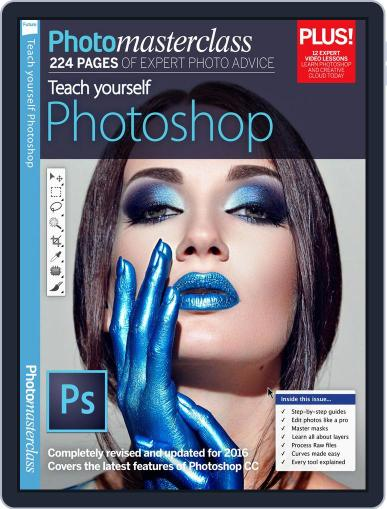 Teach Yourself Photoshop Magazine (Digital) September 5th, 2016 Issue Cover