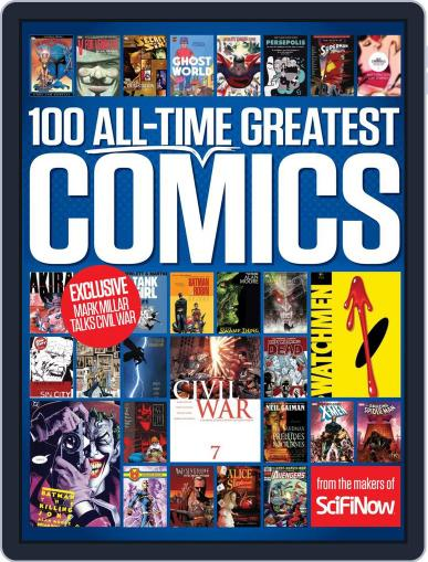 100 All-Time Greatest Comics Magazine (Digital) June 1st, 2016 Issue Cover