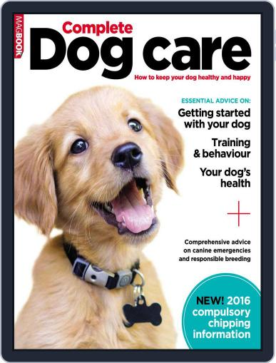 Complete Dog Care Magazine (Digital) January 6th, 2016 Issue Cover