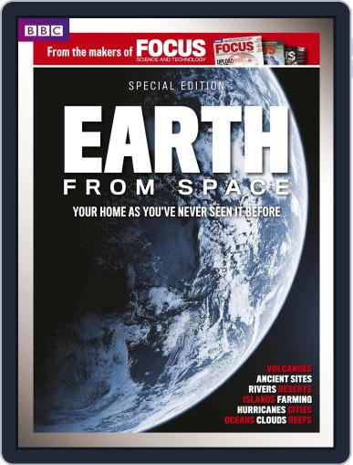 BBC Focus Magazine present Earth from Space Magazine (Digital) October 2nd, 2014 Issue Cover
