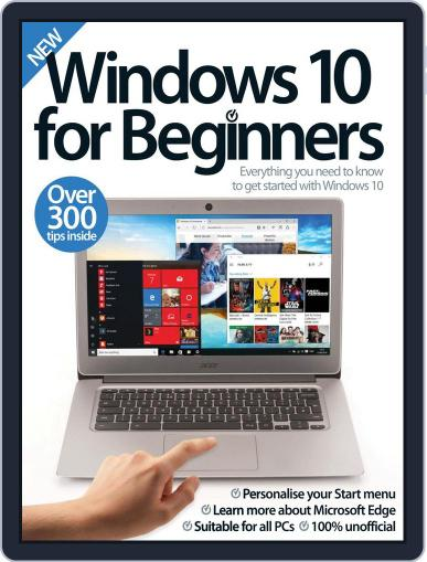 Windows 10 For Beginners Magazine (Digital) March 1st, 2017 Issue Cover