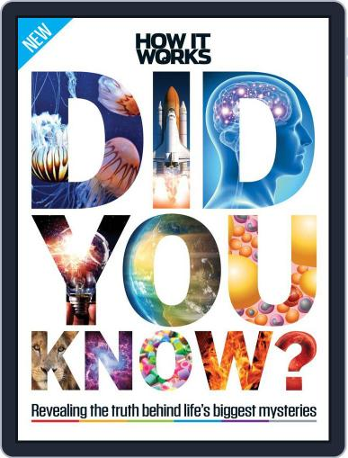How It Works Book of Did You Know? Magazine (Digital) November 1st, 2016 Issue Cover