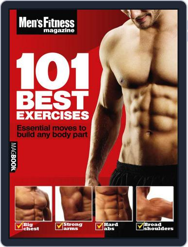 Men's Fitness 101 Best Exercises Magazine (Digital) April 14th, 2011 Issue Cover