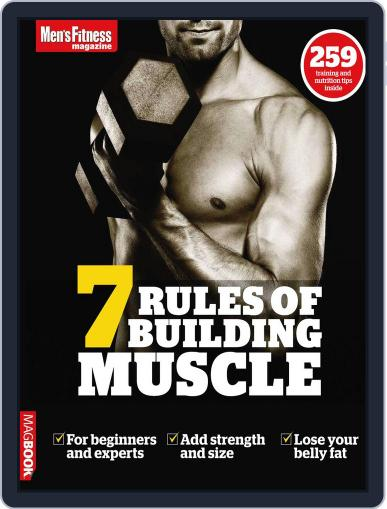 Men's Fitness 7 Rules of Building Muscle Magazine (Digital) September 11th, 2011 Issue Cover
