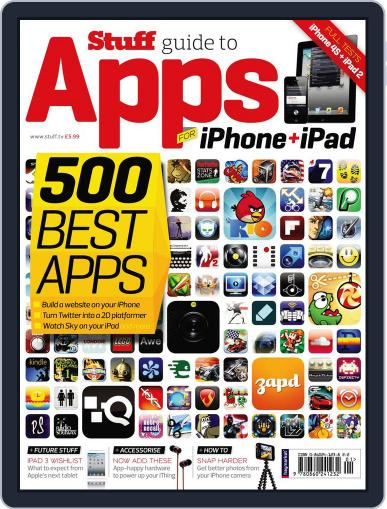 Stuff's Ultimate Guide to iPhone & iPad Apps Magazine (Digital) November 14th, 2011 Issue Cover