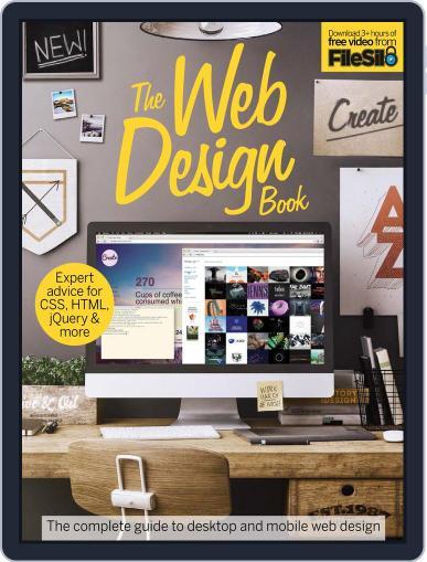 The Web Design Book Magazine (Digital) April 1st, 2016 Issue Cover