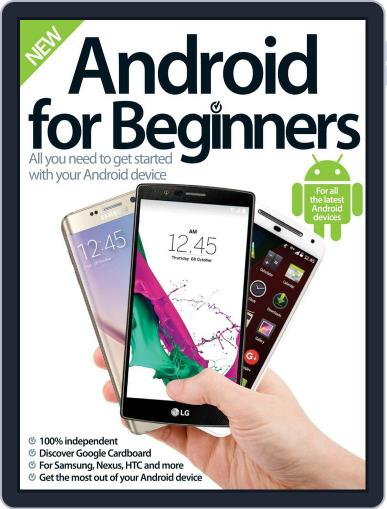 Android for Beginners Revised Edition Magazine (Digital) October 7th, 2015 Issue Cover