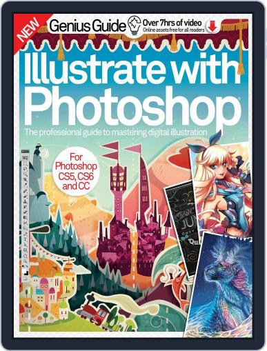 Illustrate with Photoshop Genius Guide Magazine (Digital) December 1st, 2016 Issue Cover