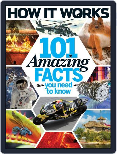 How It Works Book of 101 Amazing Facts You Need To Know Magazine (Digital) July 1st, 2016 Issue Cover